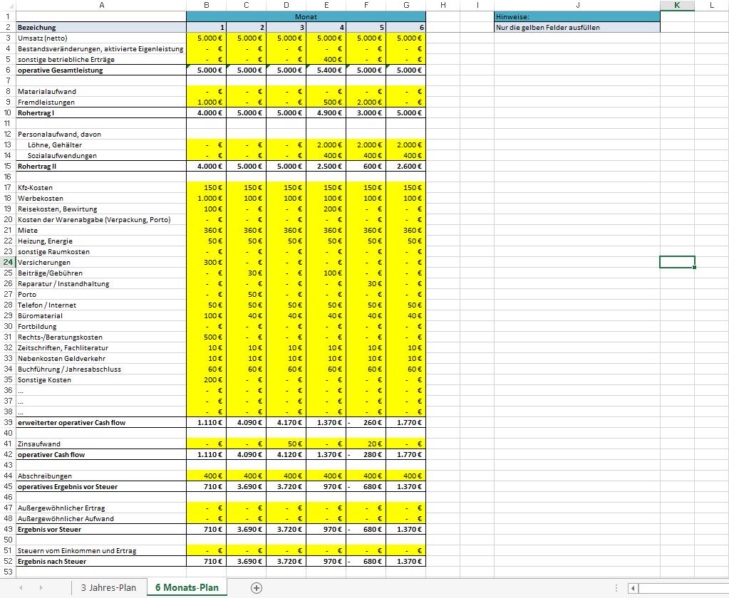 Excel-Vorlage-Rentabilitaetsplanung-1