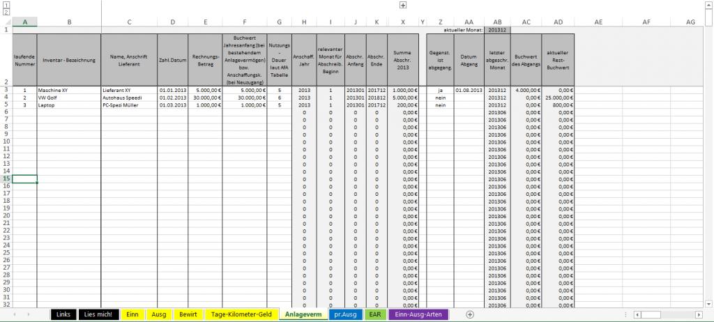 Einnahmen-Ausgaben-Rechnung-Anlagevermoegen