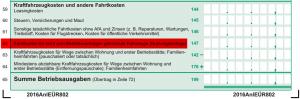 Kilometerpauschale-Anlage-EUeR