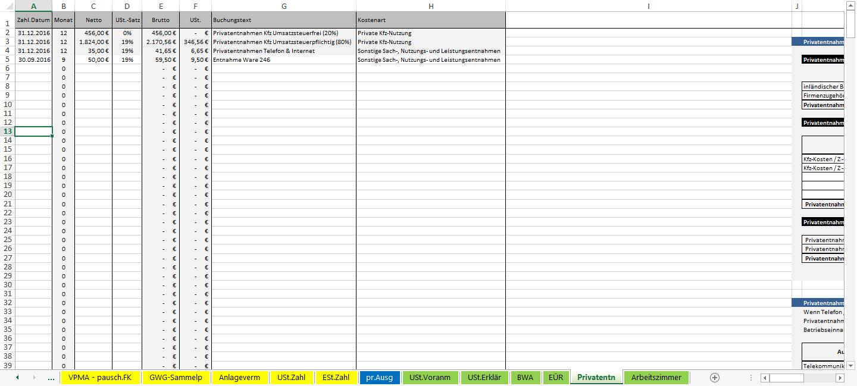 Screenshot-Excel-Vorlage-Einnahmen-Ueberschuss-Rechnung-EUeR-2016-Privatentnahmen-1