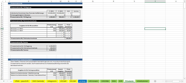 Screenshot-Excel-Vorlage-Einnahmen-Ueberschuss-Rechnung-EUeR-2016-Privatentnahmen-2