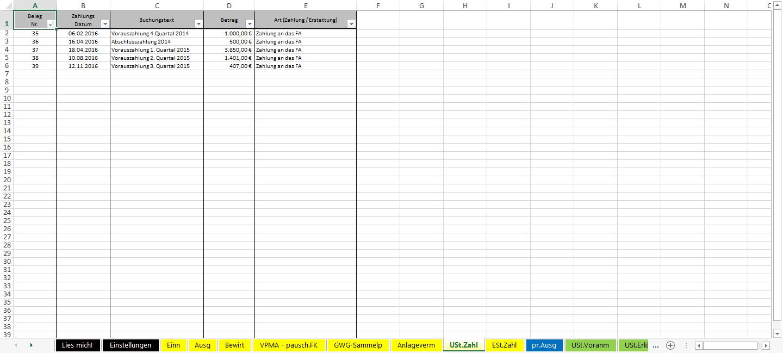 Screenshot-Excel-Vorlage-Einnahmen-Ueberschuss-Rechnung-EUeR-2016-USt-Zahl