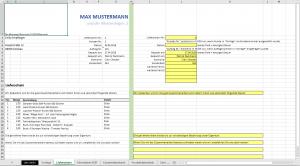 Rechnunsvorlage-Tabelle-Lieferschein