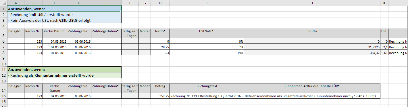 Excel Vorlage Automatisierte Angebots Und Rechnungserstellung Inkl