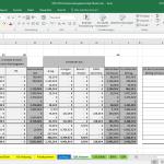 Screenshot-Excel-Vorlage-EUeR-2018-Umsatzsteuer-Voranmeldung