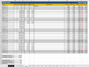 Excel-Vorlage-Arbeitszeiterfassung
